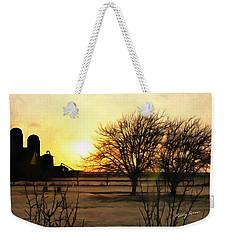 Amarillo Sunset Weekender Tote Bag