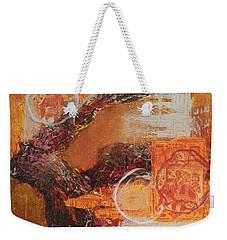 Amber Parade Weekender Tote Bag