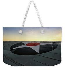 American Morning Weekender Tote Bag