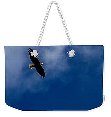 Weekender Tote Bag featuring the photograph American Pride  by Ken Frischkorn