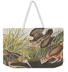 American Woodcock Weekender Tote Bag by John James Audubon