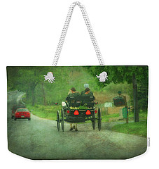 Amish Ladies Of Lancaster County Weekender Tote Bag