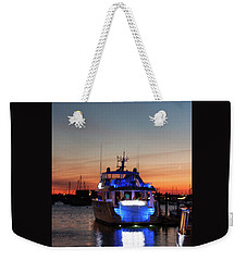 Weekender Tote Bag featuring the photograph An Evening In Newport Rhode Island by Suzanne Gaff
