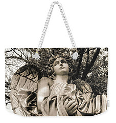 Angel In The Fall Weekender Tote Bag