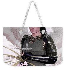 Angel Watercolor Weekender Tote Bag by Suzanne Silvir