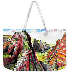 Angels Landing-zion Weekender Tote Bag