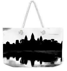 Angkor Wat Black  Weekender Tote Bag
