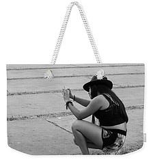 Weekender Tote Bag featuring the photograph Angle by Beto Machado