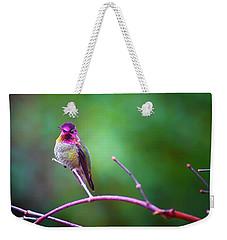 Anna Hummingbird Vii Weekender Tote Bag