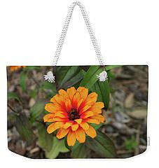Another Orange Flower Weekender Tote Bag