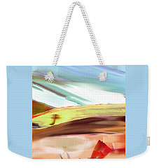 Another View Of The Hill Weekender Tote Bag