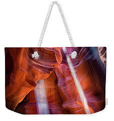 Antelope Canyon's Many Beams Weekender Tote Bag