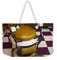 Antique Barber Chair 3 Weekender Tote Bag
