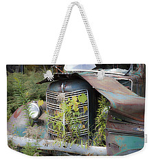 Antique Mack Truck Weekender Tote Bag by Charles Harden