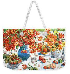 Apples And Oranges Weekender Tote Bag