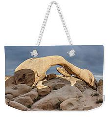 Arch Rock Panorama In Joshua Tree Weekender Tote Bag by Joe Belanger