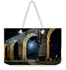 Arched Moon Weekender Tote Bag