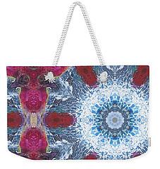Arctic Blossom Weekender Tote Bag