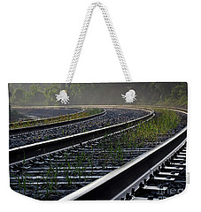 Weekender Tote Bag featuring the photograph Around The Bend by Douglas Stucky
