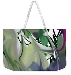 Art Abstract Weekender Tote Bag by Sheila Mcdonald