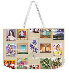 Art Collection Weekender Tote Bag by Renee Womack