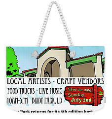 Art In Bixby Park Weekender Tote Bag
