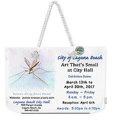 Art That's Small At City Hall  Weekender Tote Bag