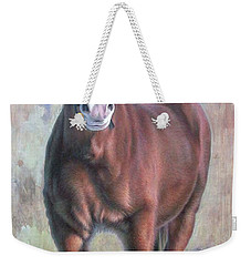 Arthur The Belgian Horse Weekender Tote Bag