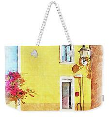 Arzachena Foreshortening Weekender Tote Bag