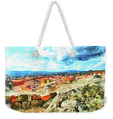 Arzachena Landscape With Clouds Weekender Tote Bag