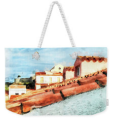 Arzachena Roof And Church Weekender Tote Bag