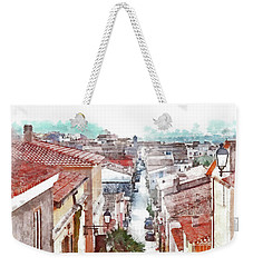 Arzachena View Of The Corso Garibaldi Weekender Tote Bag