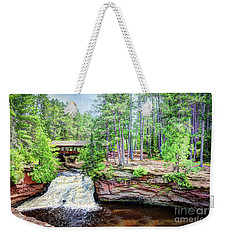 As The Water Falls Weekender Tote Bag