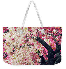 Asian Cherry Vignette Weekender Tote Bag by Jessica Jenney