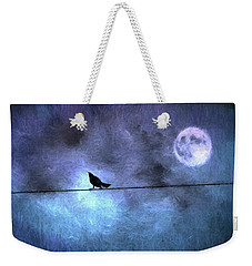 Weekender Tote Bag featuring the photograph Ask Me For The Moon by Jan Amiss Photography
