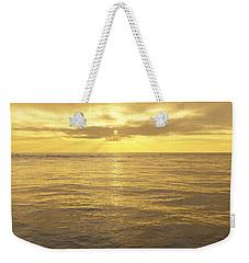 Weekender Tote Bag featuring the digital art Ocean View by Mark Greenberg