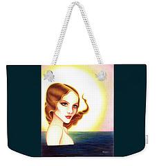 August Honey Weekender Tote Bag