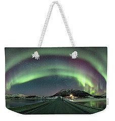 Aurora Panoramic Weekender Tote Bag