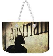 Austrian Silhouette Weekender Tote Bag by Siegfried Ferlin