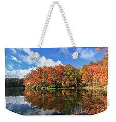 Autumn At Boley Lake Weekender Tote Bag