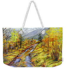 Autumn At The Estuary  Weekender Tote Bag
