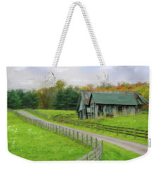 Autumn Barn Weekender Tote Bag by Mary Timman
