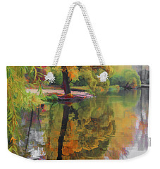 Weekender Tote Bag featuring the photograph Autumn Colors by Vladimir Kholostykh