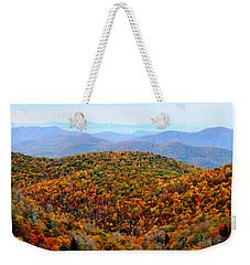 Autumn Display Weekender Tote Bag