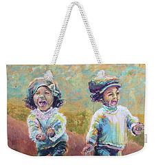 Autumn Joy Weekender Tote Bag