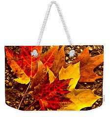 Autumn Leaves Weekender Tote Bag