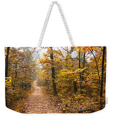 Autumn Morning Weekender Tote Bag by Ricky Dean
