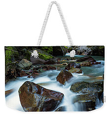 Avalanche Creek Rapids Weekender Tote Bag