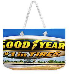 My Goodyear Blimp Ride Weekender Tote Bag