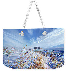 Weekender Tote Bag featuring the photograph Azure by Phil Koch